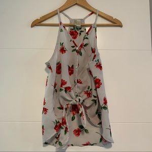 Japna | Floral Rose Tank Top
